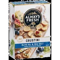 Photo of Always Fresh Olive Oil & Sea Salt Crustini 120g