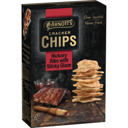 Photo of Arnott's Cracker Chips Hickory Ribs 150g