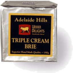 Photo of Udder Delight Trpl Crm Brie 180g