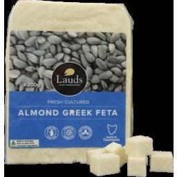 Photo of Lauds Vegan Greek Style Feta 200