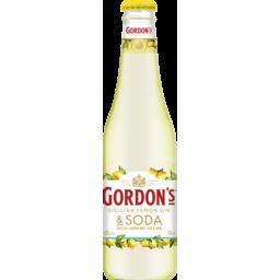 Photo of Gordon's Sicilian Lemon Gin Bottles