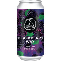 Photo of 8 Wired Blackberry Way Fruited Sour 330ml