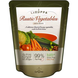 Photo of La Zuppa Rustic Vegetable With Beans 540g