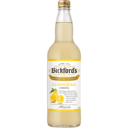 Photo of Bickfords Lemon Juice Cordial 750ml