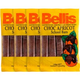 Photo of Bellis Chc Apr School Bars 160g