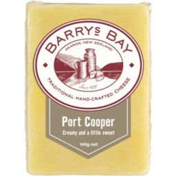 Photo of Barry's Bay Traditional Port Cooper Cheese 140g