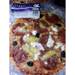 Photo of Salami And Goats Cheese Pizza