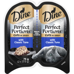 Photo of Dine Perfect Portions Classic Tuna In Gravy 2x37.5g