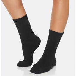 Photo of Womens Crew Boot Sock Black 3-9