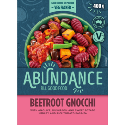 Photo of Mccain Abundance Fill Good Food Beetroot Gnocchi And Rich Tomato Passata 400g
