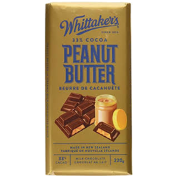 Photo of Whittaker's Milk Chocolate Peanut Butter 250g