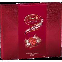 Photo of Lindt Lindor Milk Gift Box 150g
