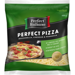 Photo of Perfect Italiano Perfect Pizza Grated Cheese 450g