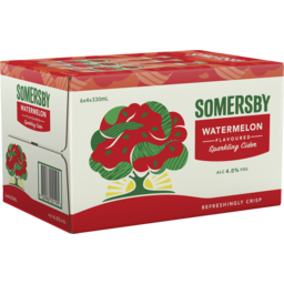 Photo of Somersby Watermelon Cider Bottles
