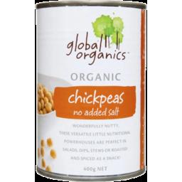 Photo of Global Organics Chick Peas (No Added Salt)
