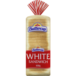 Photo of Buttercup White Sandwich Slice Tasty Bread 650gm