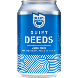 Photo of Quiet Deeds Juice Train 4 Pack
