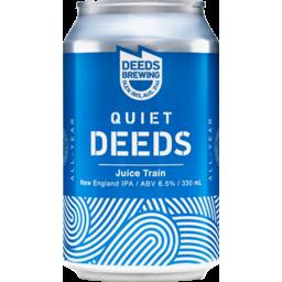 Photo of Quiet Deeds Juice Train 4 Pack