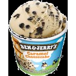 Photo of Ben & Jerrys Caramel Cheesecake 120ml