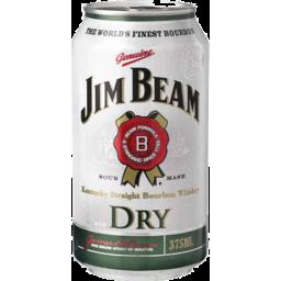 Photo of Jim Beam White & Dry Can