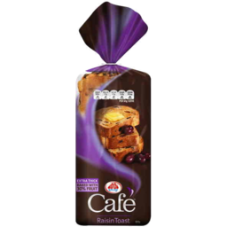 Photo of Tip Top Cafe Extra Thick Raisin Toast 650g