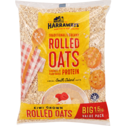 Photo of Harraways Rolled Oats 1.5kg