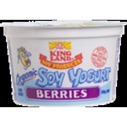 Photo of King Land Soy Yoghurt Mix Berries 250gm