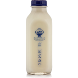 Photo of Glass - Barambah Organics Full Cream Unhomogenised Milk