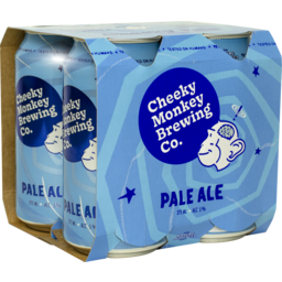 Photo of Cheeky Monkey Pale Ale Can