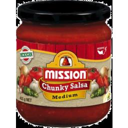 Photo of Mission Chunky Medium Salsa 453g