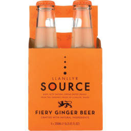 Photo of Llanllyr Source Fiery Ginger Beer 4 Pack