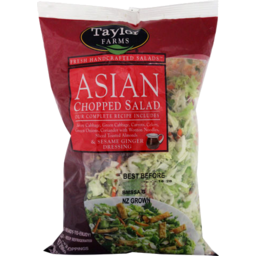 Photo of Salad Asian Chopped Taylor Farm 364g