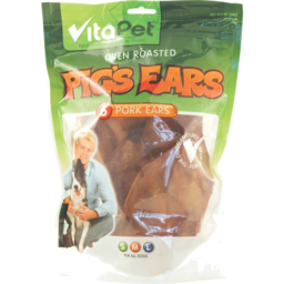 Photo of Vitapet For Dogs Pig's Ears 6 Pack
