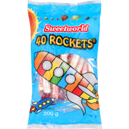 Photo of Sweetworld Rockets Confectionery 200g