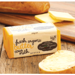 Photo of True Organic - Australian Organic Butter - Salted - 250g