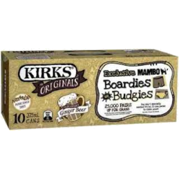 Photo of Kirks Dry Ginger Ale 10x375ml