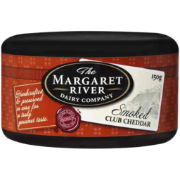 Photo of The Margaret River Dairy Company Smoked Club Cheddar 150gm