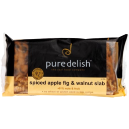 Photo of Pure Delish Spiced Apple & Fig Slab 450g
