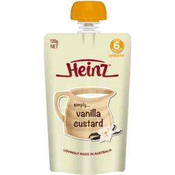 Photo of Heinz Vanilla Custard 120g