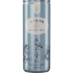 Photo of Lyre's Gin & Tonic 250ml Slim Can