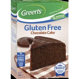 Photo of Green's Gluten Free Chocolate Cake 470gm