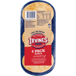 Photo of Irvines Pie Mince 6 Pack