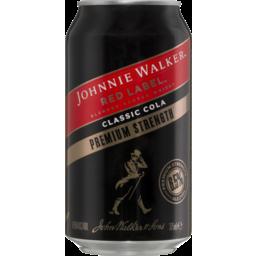 Photo of Johnnie Walker & Cola Premium 6.5% Can