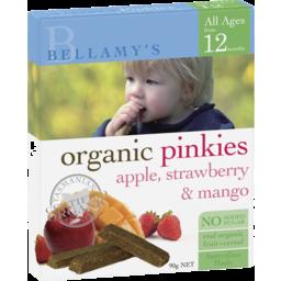 Photo of Bellamys Pinkies Apple, Strawberry and Mango 90g