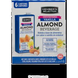 Photo of Member's Selection Almond Unsweetened Vanilla