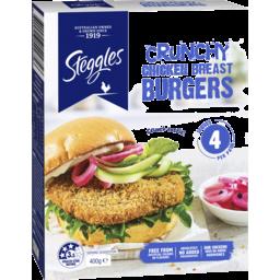 Photo of Stegg Crunch Burger 400gm