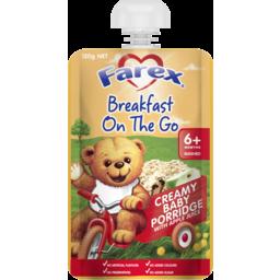 Photo of Farex Breakfast On The Go Creamy Baby Porridge 6mths+ 120g