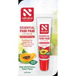 Photo of  Natralus Essential Paw Paw Lip Balm 12gm