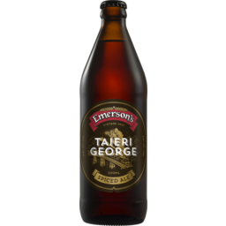 Photo of Emerson Taieri George Spiced Ale 500ml