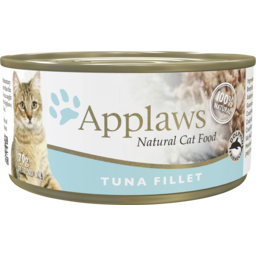 Photo of Applaws Cat Food Can Tuna Fillet 70g